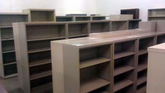 Used And Pre Owned Book Cases Metal Shelving