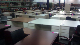 Used Pre Owned Veneer And Laminate Desks In Ct
